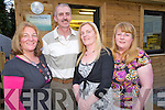 Pictured at the official opening of Orchard Framing in Ballydribbeen, Killarney on Saturday night were Mary Curtin, David and Margaret O'Mahony and Hannah Curtin.