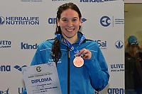 D'INNOCENZO Giulia ITA Bronze <br /> Youth Girls' 400m Individual Medley <br /> Lignano Sabbiadoro 06-05-2017 Ge.Tur Complex <br /> Energy Standard Cup 2017 Nuoto<br /> Photo Andrea Staccioli/Deepbluemedia/Insidefoto