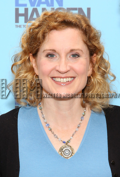 Christiane Noll attends the National Tour Photo Call for 'Dear Evan Hansen' on September 6, 2018 at the New 42nd Street Studios in New York City.