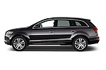 Car Driver side profile view of a 2015 Audi Q7 - 5 Door Suv 2WD Side View