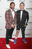 Josh Wood and Jake Shears from Scissor Sisters attending amfAR's third annual Inspiration Gala at the New York Public Library in New York, 07.06.2012..Credit: Rolf Mueller/face to face /MediaPunch Inc. ***FOR USA ONLY*** NORTEPHOTO.COM