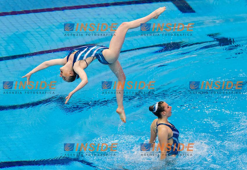 BristolClub Preswimmer<br /> London, Queen Elizabeth II Olympic Park Pool <br /> LEN 2016 European Aquatics Elite Championships <br /> Synchro<br /> Team technical final <br /> Day 01 09-05-2016<br /> Photo Giorgio Perottino/Deepbluemedia/Insidefoto