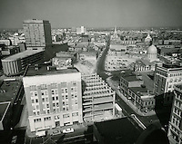 1961 February 16..Redevelopment.Downtown North (R-8)..Downtown Progress..North View from VNB Building..HAYCOX PHOTORAMIC INC..NEG# C-61-5-50.NRHA#..