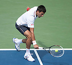 Novak Djokovic (SRB) defeats Sam Querrey (USA) 6-3, 6-2, 6-2