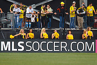 24 OCTOBER 2010:  Columbus Crew Dancers the Crewzers during MLS soccer game against the Philadelphia Union at Crew Stadium in Columbus, Ohio on August 28, 2010.