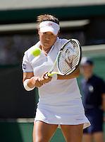 1-7-08, England, Wimbledon, Tennis, Tanasugarn