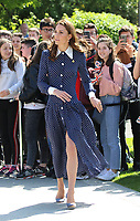 MAY 14 Duchess of Cambridge visits Bletchley Park