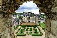 France, Indre-et-Loire, Langeais, château et jardin de langeais