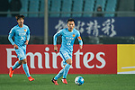 Jiangsu FC Midfielder Wu Xi in action during the AFC Champions League 2017 Group H match between Jiangsu FC (CHN) vs Adelaide United (AUS) at the Nanjing Olympics Sports Center on 01 March 2017 in Nanjing, China. Photo by Marcio Rodrigo Machado / Power Sport Images