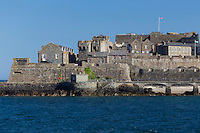 Royaume-Uni, îles Anglo-Normandes, île de Guernesey, Saint Peter Port, Castle Cornet  // United Kingdom, Channel Islands, Guernsey island, Saint Peter Port, Castle Cornet