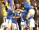 20040313     Copyright Pic : James Stewart.File Name : jspa10_stjohn_v_ict..KEIGAN PARKER CELEBRATES WITH TEAM MATES AND FANS AFTER SCORING ST JOHNSTONE'S LATE WINNER........James Stewart Photo Agency 19 Carronlea Drive, Falkirk. FK2 8DN      Vat Reg No. 607 6932 25.Office     : +44 (0)1324 570906     .Mobile  : +44 (0)7721 416997.Fax         :  +44 (0)1324 570906.E-mail  :  jim@jspa.co.uk.If you require further information then contact Jim Stewart on any of the numbers above.........