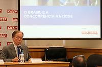 SÃO PAULO, SP, 25.04.2019: POLITICA-SP: Ruy Coutinho, Coordenador do Grupo de Estudos de Direito Concorrencial da FIESP/CIESP e Secretário de Economia, Desenvolvimento, Inovação, Ciência e Tecnologia do Distrito Federal, participa de evento sobre os novos rumos do direito da concorrência com a adesão do Brasil ao Comitê de Concorrência da Organização para Cooperação e Desenvolvimento Econômico (OCDE), nesta quinta-feira, 25. ( Foto: Charles Sholl/Brazil Photo Press)