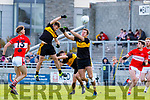 Paul Geaney Dingle in action against John Payne of Dr. Crokes during the Kerry County Senior Club Football Championship Final match between Dr Crokes and Dingle at Austin Stack Park in Tralee, Kerry on Sunday.