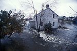 Floodwaters, Misissippi River, Lanark Village, County Ontario