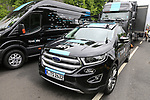 Team Sky Ford Edge before Stage 1, a 14km individual time trial around Dusseldorf, of the 104th edition of the Tour de France 2017, Dusseldorf, Germany. 1st July 2017.<br /> Picture: Eoin Clarke | Cyclefile<br /> <br /> <br /> All photos usage must carry mandatory copyright credit (&copy; Cyclefile | Eoin Clarke)