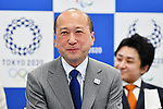 Toshiyuki Yamamoto, <br /> MAY 22, 2017 : The Tokyo Organising Committee of the Olympic and Paralympic Games announce the application requirements of the convention mascot in Tokyo, Japan. (Photo by AFLO)