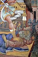 BG41191.JPG BULGARIA, RILA MONASTERY, CHURCH OF NATIVITY, frescoes