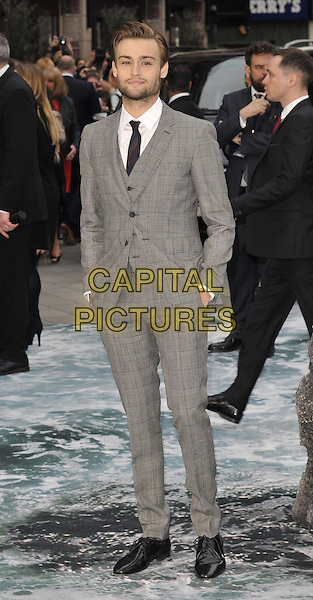 LONDON, ENGLAND - MARCH 31: Douglas Booth attends the &quot;Noah&quot; UK film premiere, Odeon Leicester Square cinema, Leicester Square, on Monday March 31, 2014 in London, England, UK.<br /> CAP/CAN<br /> &copy;Can Nguyen/Capital Pictures