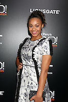 """LOS ANGELES - OCT 17:  Nia Sioux at the """"Tyler Perry's BOO! A Madea Halloween"""" Premiere at the ArcLight Hollywood on October 17, 2016 in Los Angeles, CA"""