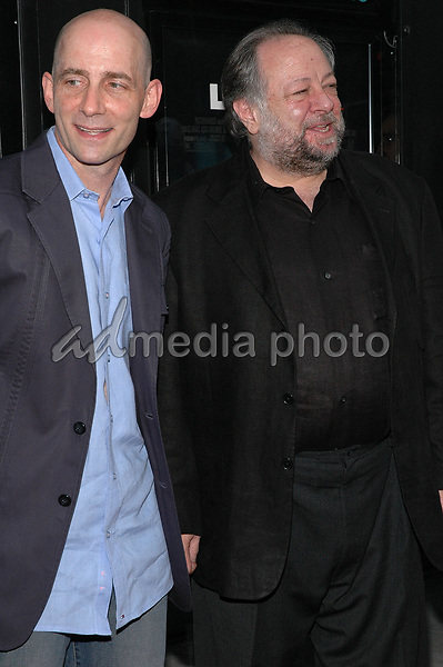 19 July 2005 - New York, New York - Producer Dany Wolf and actor Ricky Jay arrive at the premiere of their new film, &quot;Last Days&quot;, at The Sunshine Theater in Manhattan.<br />