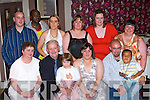 Celebrating Frank O'Connor Firies 60th birthday and his daughter Antoinette 21st birthday in Darby O'Gills Friday night was l-r front: Rita, Frank O'Connor, Katlyn O'Connor-Kelly, Antoinette O'Connor, Jer Doherty, Cian Lazarus. Back row: Tim O'connor, John Lazarus, Sheila Pavlovii, Margarita Lazarus, Marguerite Lehane and Catherine Casey   Copyright Kerry's Eye 2008