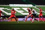 Milot Rashica (Werder Bremen) schiesst das Tor zum 2-0.<br /><br />Sport: Fussball: 1. Bundesliga:: nphgm001:  Saison 19/20: 34. Spieltag: SV Werder Bremen - 1. FC Koeln, 27.06.2020<br /><br />Foto: Marvin Ibo GŸngšr/GES/Pool/via gumzmedia/nordphoto