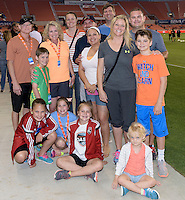 Fans at the Houston Dash versus Chicago Red Stars game  on Saturday, April 16, 2016 at BBVA Compass Stadium in Houston Texas.