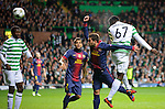 Victor Wanyama scores with a header