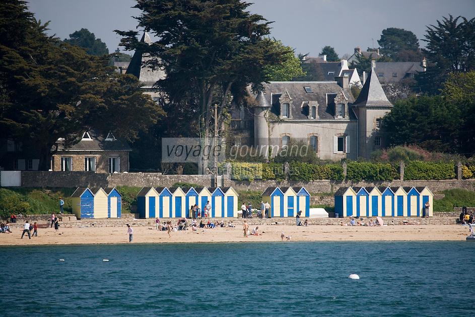 Europe/France/Bretagne/56/Morbihan/Golfe du Morbihan/Ile-Aux-Moines: la plage