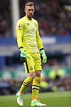 Maarten Stekelenburg of Everton during the English Premier League match at Goodison Park , Liverpool. Picture date: April 30th, 2017. Photo credit should read: Lynne Cameron/Sportimage