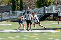 The Harker School - US - Upper School - Girls Varsity Lacrosse Home Game...2012-03-23...Photo by Bill Cracraft