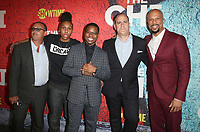 03 January 2018 - Los Angeles, California - Bert Salke, creator/executive producer Lena Waithe, actor Jason Mitchell, Showtime CEO, David Nevins and executive producer Common. Showtime's &quot;The Chi&quot; Los Angeles Premiere held at Downtown Independent.     <br /> CAP/ADM/FS<br /> &copy;FS/ADM/Capital Pictures