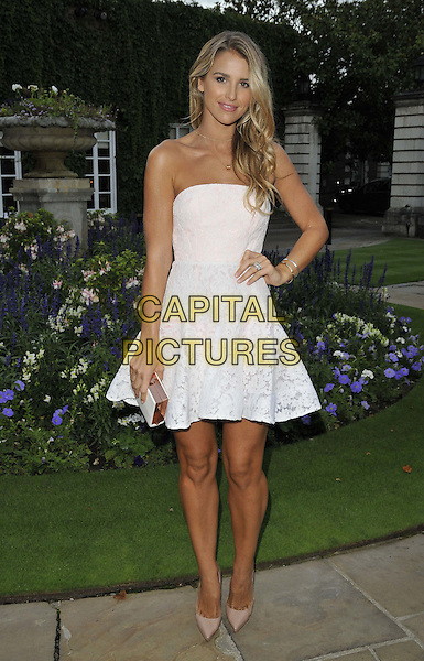 LONDON, ENGLAND - AUGUST 28: Vogue Williams attends the Mo Farah Foundation &quot;A Night Of Champions&quot; Dinner, The Hurlingham Club, Ranelagh Gardens, on Thursday August 28, 2014 in London, England, UK. <br /> CAP/CAN<br /> &copy;Can Nguyen/Capital Pictures
