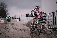 Helen Wyman (GBR)<br /> <br /> Superprestige cyclocross Hoogstraten 2019 (BEL)<br /> Women's Race<br /> <br /> &copy;kramon
