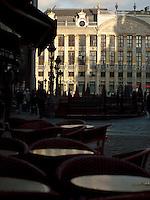 Maison des Ducs de Brabant and Market Square of the Grand Place, Brussels, Belgium