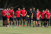 USMNT Training, October 4, 2016