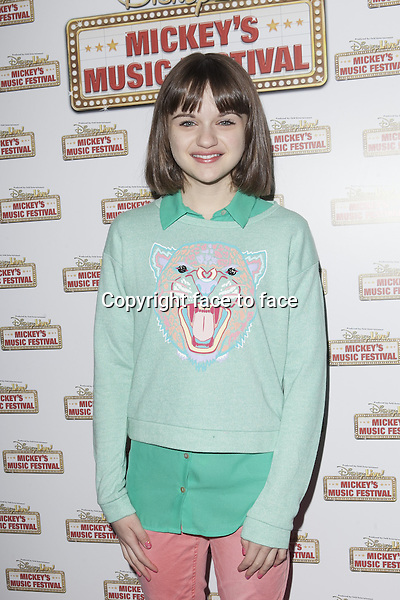 NEW YORK, NY - MARCH 23: Joey King attends Disney Live! Mickey's Music Festival at The Theater at Madison Square Garden on March 23, 2013 in New York City. ..Credit: MediaPunch/face to face..- Germany, Austria, Switzerland, Eastern Europe, Australia, UK, USA, Taiwan, Singapore, China, Malaysia and Thailand rights only -