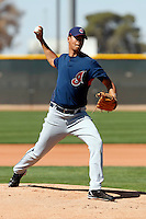 Joanniel Montero  -  Cleveland Indians - 2009 spring training.Photo by:  Bill Mitchell/Four Seam Images