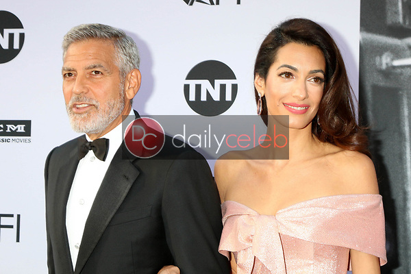 George Clooney, Amal Clooney<br /> at the American Film Institute Lifetime Achievement Award to George Clooney, Dolby Theater, Hollywood, CA 06-07-18<br /> David Edwards/DailyCeleb.com 818-249-4998