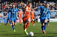 Greg Docherty of Shrewsbury Town in action during Gillingham vs Shrewsbury Town, Sky Bet EFL League 1 Football at The Medway Priestfield Stadium on 13th April 2019