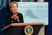 Dr. Deborah L. Birx, White House Coronavirus Response Coordinator, speaks during a news briefing by members of the Coronavirus Task Force at the White House in Washington, DC on March 31, 2020.<br /> Credit: Chris Kleponis / Pool via CNP