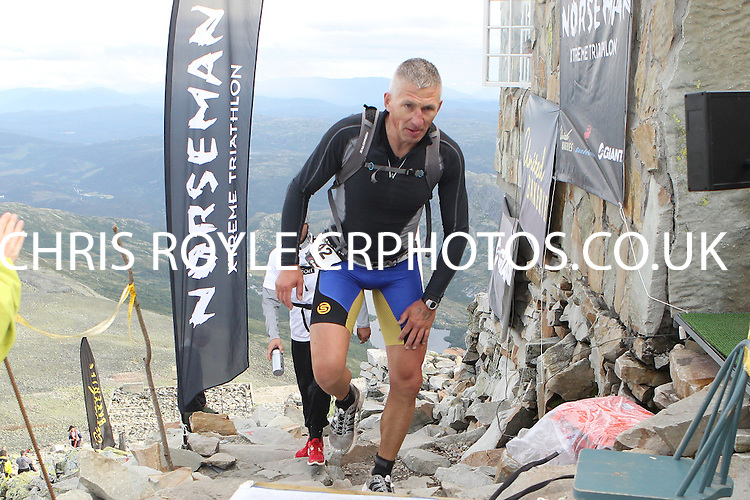 Race number 142 - Kai Melder - - Sunday Norseman Xtreme Tri 2012 - Norway - photo by chris royle / boxingheaven@gmail.com