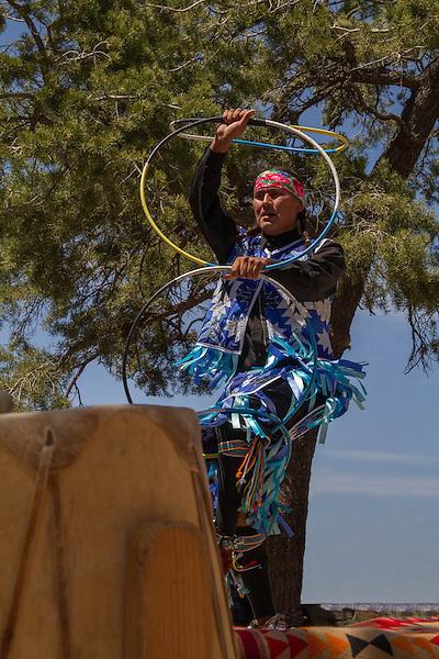 Navajo man performing the ring dance, South Rim in Grand Canyon National Park, Arizona . John offers private photo tours in Grand Canyon National Park and throughout Arizona, Utah and Colorado. Year-round.