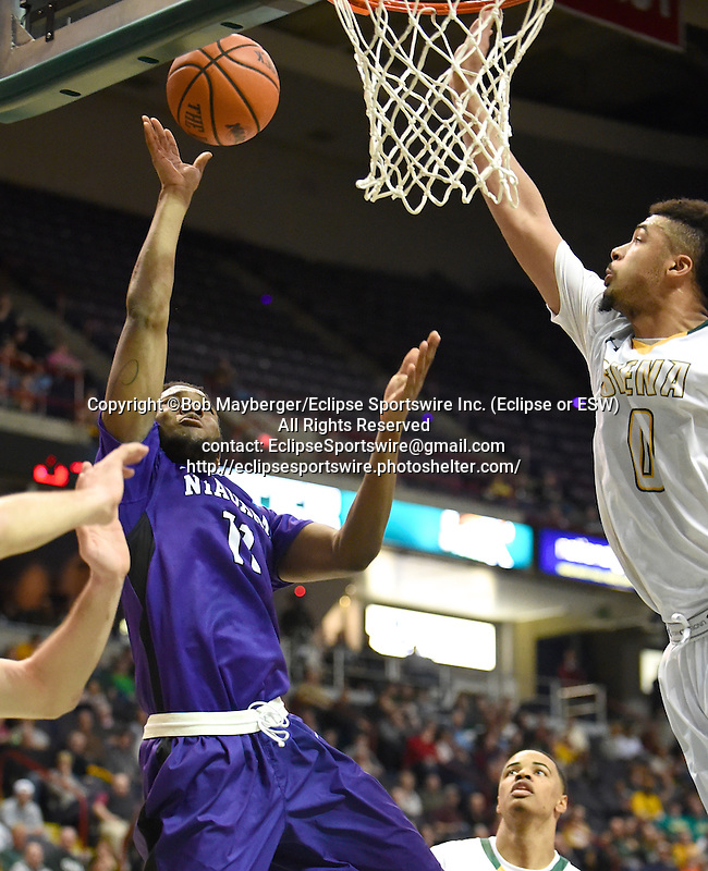 Siena defeats Niagara 75-63 in a game on January 02, 2016 at the Times Union Center in Albany, New York.  (Bob Mayberger/Eclipse Sportswire)