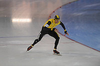 SCHAATSEN: GRONINGEN: Sportcentrum Kardinge, 17-01-2015, KPN NK Sprint, Stefan Groothuis, ©foto Martin de Jong