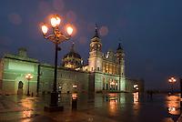 Spanien, Kathedrale Nuestra Senora de la Almudena in Madrid, erbaut 1883-1993