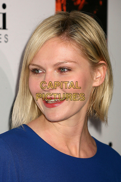 KIRSTEN DUNST.Melissa Joan Hart. The 2006 Art of Elysium Annual Art,  Benefit at Minotti, Los Angeles, California, USA,.02 December 2006..portrait headshot blue dress.CAP/ADM/BP.©Byron Purvis/AdMedia/Capital Pictures.