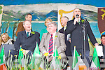 Wheesie Fogarty on stage at he Killarney St Patricks parade on Thursday