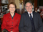 John and Ann Flemming pictured at the Collon Senior Citizens Christmas party in Watter's. Photo:Colin Bell/pressphotos.ie