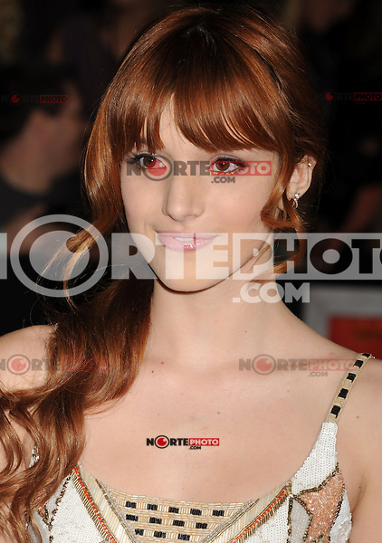 LOS ANGELES, CA - FEBRUARY 22: Bella Thorne attends the 'John Carter' Los Angeles premiere held at the Regal Cinemas L.A. Live on February 22, 2012 in Los Angeles, California.